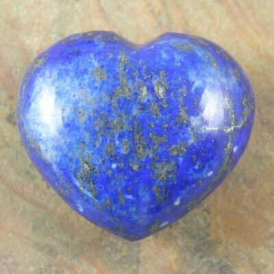 Carved Lapis Heart