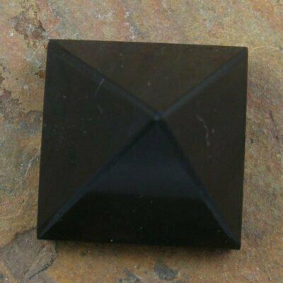 25mm Black Tourmaline Pyramid
