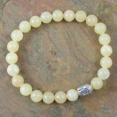 Calcite Buddah Bracelet