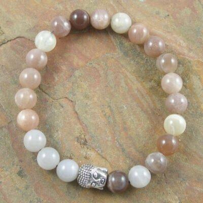 Moonstone Buddah Bracelet