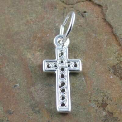 Sterling Silver Lacey Cross Pendant