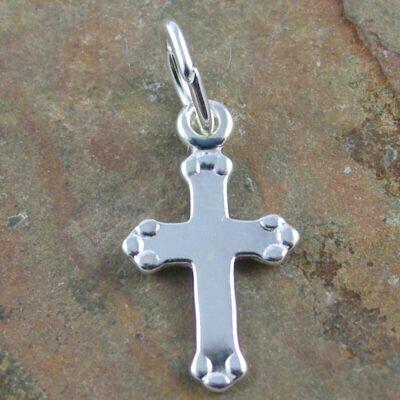 Sterling Silver Fancy Cross Pendant