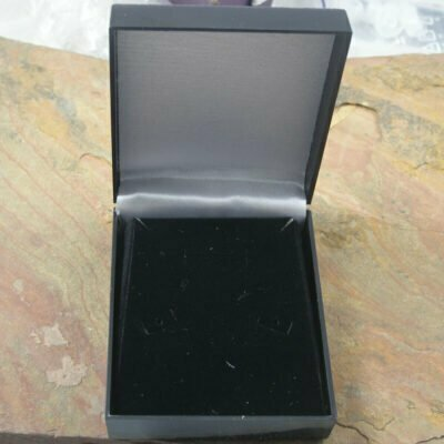 Pendant Display Box With Black Insert