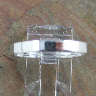 Sterling Silver Ring 3mm Flat Band