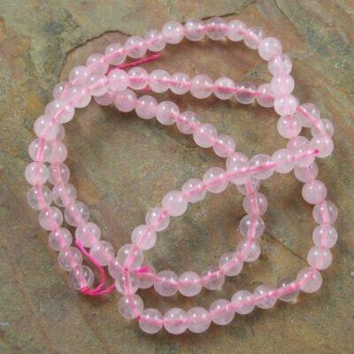4mm Rose Quartz Beads