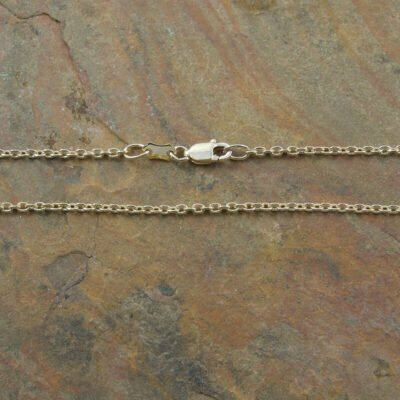 Triple Gold Plated Sterling Silver Cable Chain