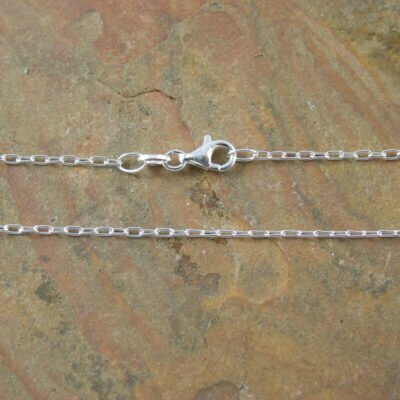 Sterling Silver Long Cable Chain