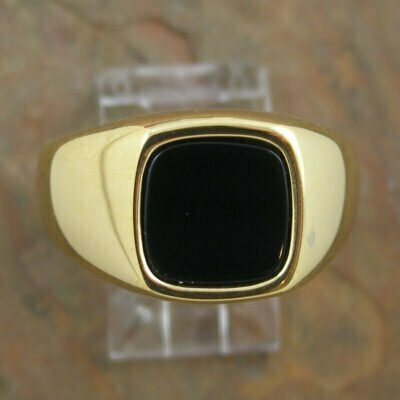 Stainless Steel Indian Ring IP Gold Plated